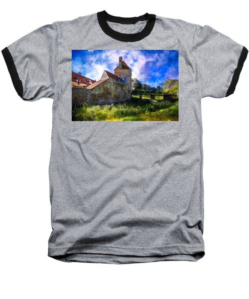 Spring Romance In The French Countryside Baseball T-Shirt by Debra and Dave Vanderlaan