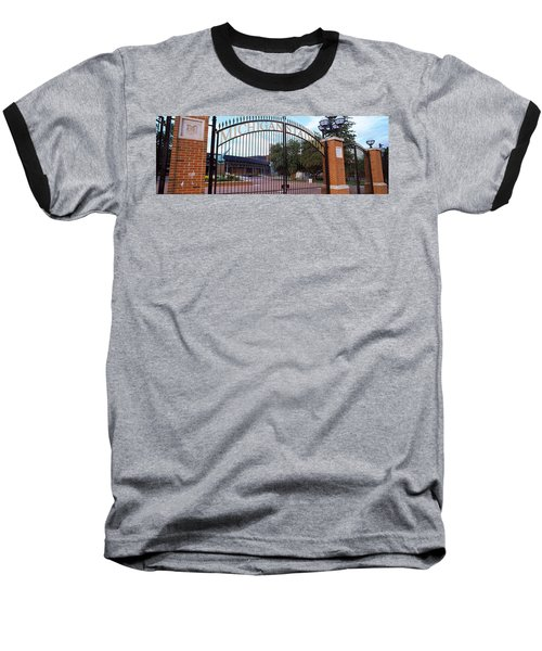 Stadium Of A University, Michigan Baseball T-Shirt by Panoramic Images
