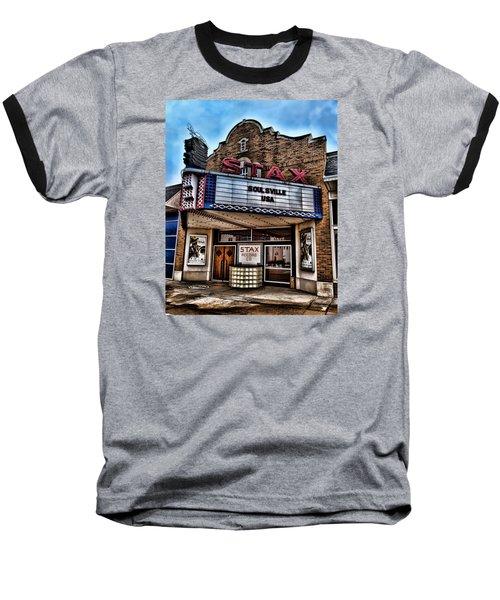 Stax Records Baseball T-Shirt by Stephen Stookey