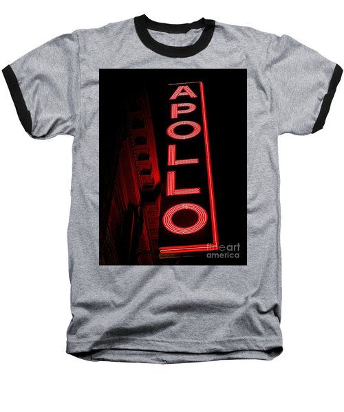 The Apollo Baseball T-Shirt by Ed Weidman