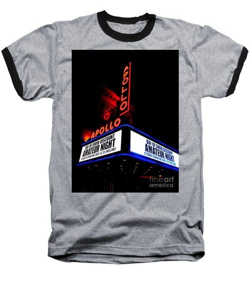 The Apollo Theater Baseball T-Shirt by Ed Weidman
