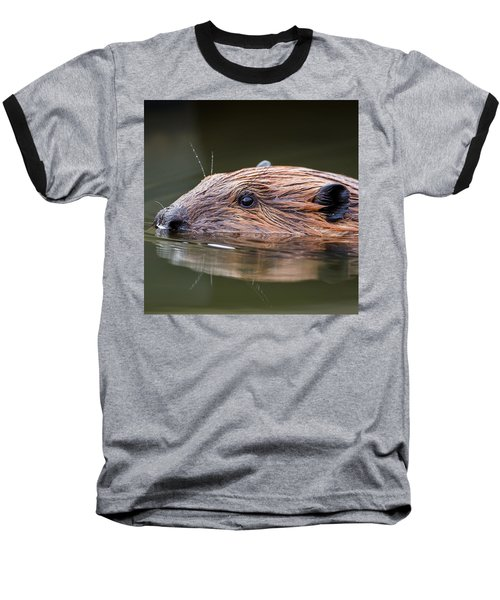 The Beaver Square Baseball T-Shirt by Bill Wakeley