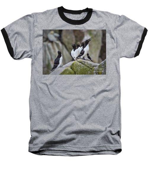 The Chorus Line Baseball T-Shirt by Evelina Kremsdorf