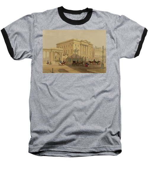 The Exterior Of Apsley House, 1853 Baseball T-Shirt by English School