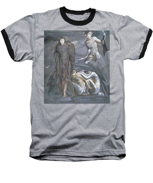 The Finding Of Medusa, C.1876 Baseball T-Shirt by Sir Edward Coley Burne-Jones