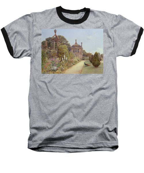 The Gardens At Montacute In Somerset Baseball T-Shirt by Ernest Arthur Rowe