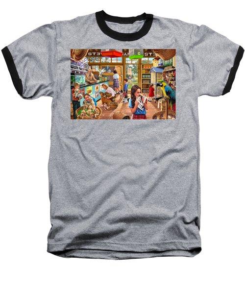 The Pet Shop Baseball T-Shirt by Steve Crisp