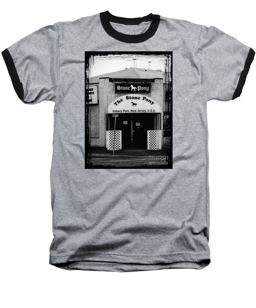 The Stone Pony Baseball T-Shirt by Colleen Kammerer