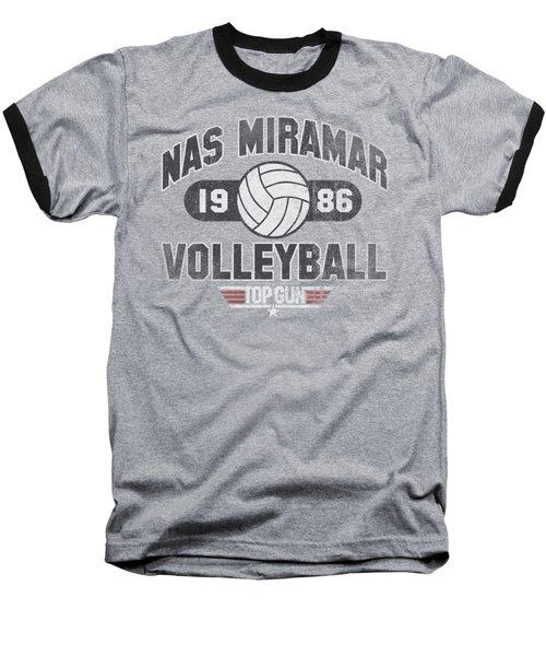 Top Gun - Nas Miramar Volleyball Baseball T-Shirt by Brand A