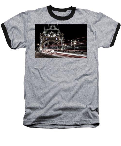 Tower Bridge London Baseball T-Shirt by Martin Newman