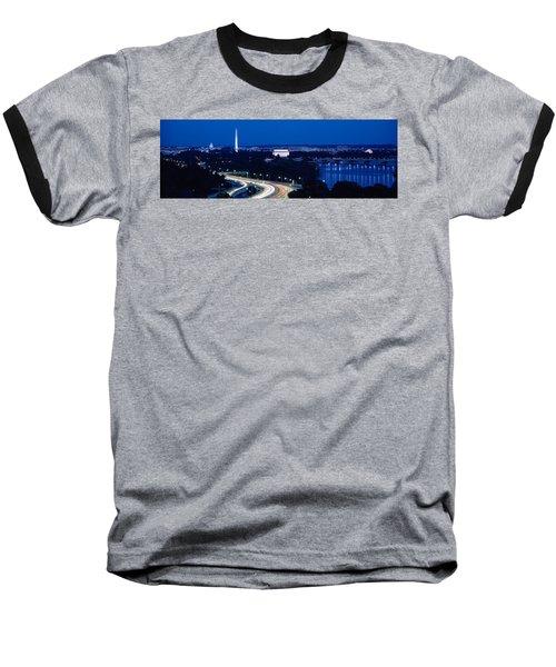 Traffic On The Road, Washington Baseball T-Shirt by Panoramic Images