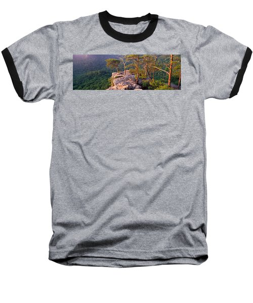 Trees On A Mountain, Buzzards Roost Baseball T-Shirt by Panoramic Images