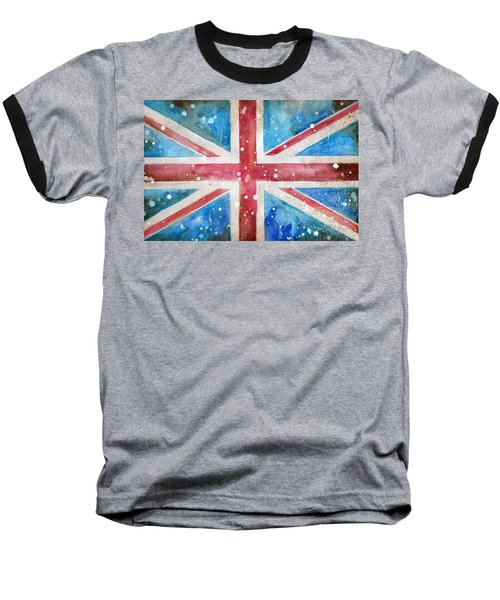 Union Jack Baseball T-Shirt by Sean Parnell