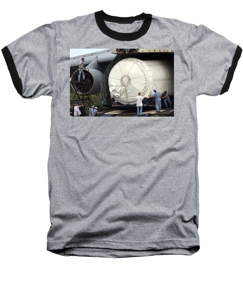Baseball T-Shirt featuring the photograph Unloading A Titan Ivb Rocket by Science Source