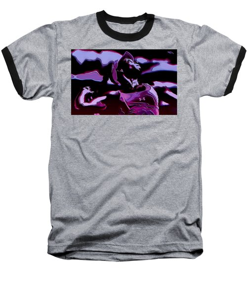 Venus Williams Queen V Baseball T-Shirt by Brian Reaves