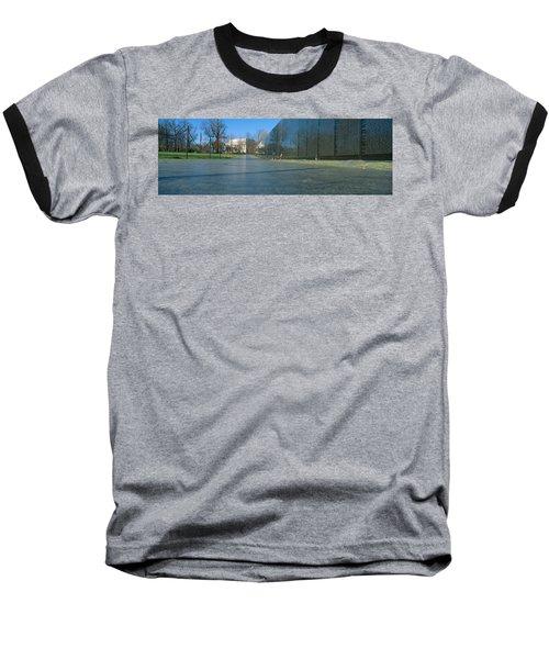 Vietnam Veterans Memorial, Washington Dc Baseball T-Shirt by Panoramic Images