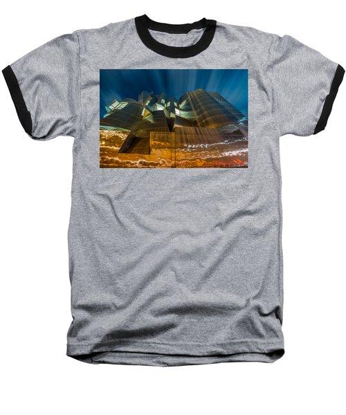 Weisman Art Museum Baseball T-Shirt by Mark Goodman