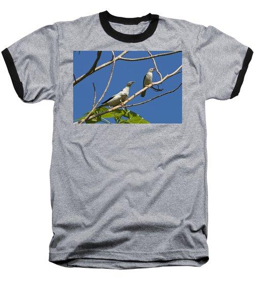 White-headed Starlings Havelock Isl Baseball T-Shirt by Konrad Wothe
