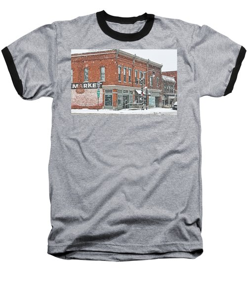 Whitehouse Ohio In Snow 7032 Baseball T-Shirt by Jack Schultz