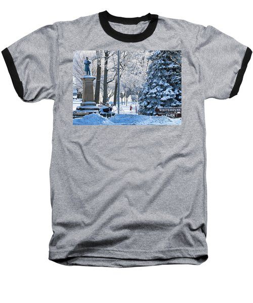 Whitehouse Village Park  7360 Baseball T-Shirt by Jack Schultz