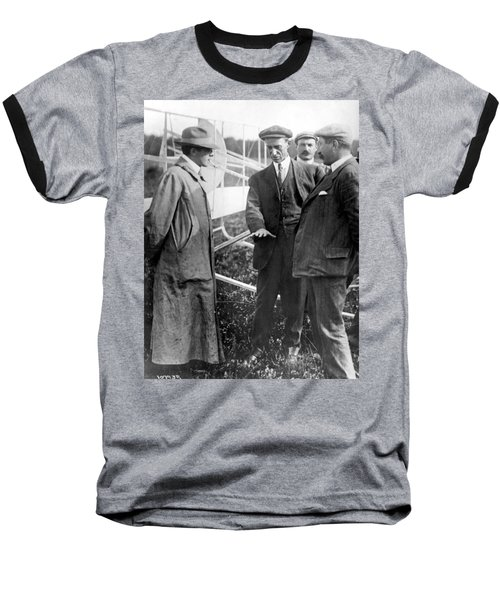 Baseball T-Shirt featuring the photograph Wilbur Wright, 1908 by Science Source