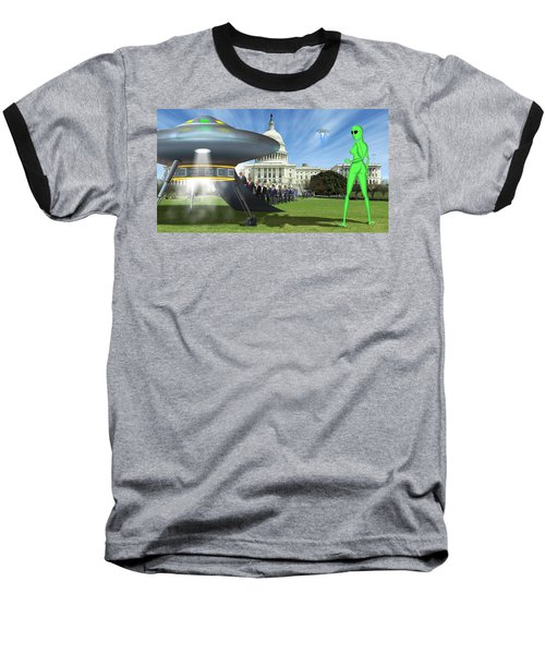 Wip - Washington Field Trip Baseball T-Shirt by Mike McGlothlen