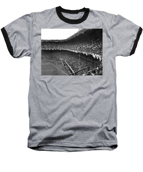 World Series In New York Baseball T-Shirt by Underwood Archives