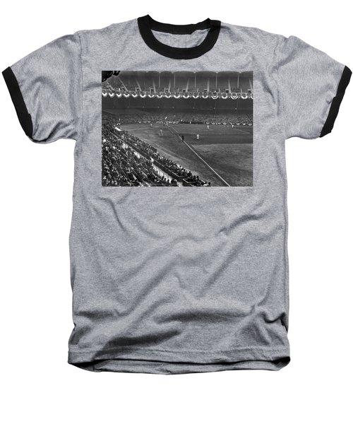 Yankee Stadium Game Baseball T-Shirt by Underwood Archives