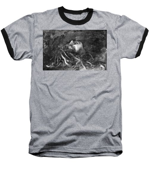 Mythology: Medusa Baseball T-Shirt by Granger