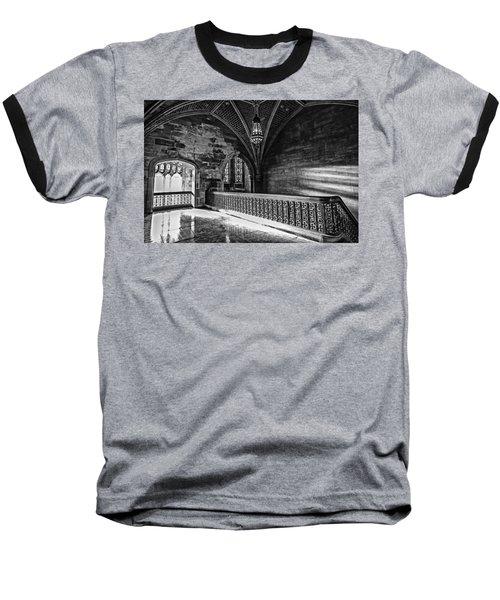 Cold Rock Warm Light Baseball T-Shirt by CJ Schmit