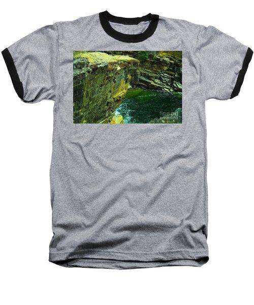 Colored Rocks  Baseball T-Shirt by Jeff Swan