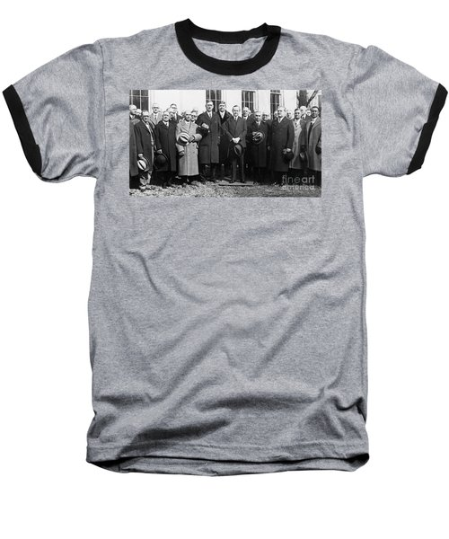 Coolidge: Freemasons, 1929 Baseball T-Shirt by Granger
