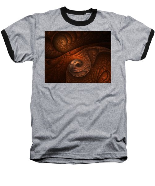 Developing Minotaur Baseball T-Shirt by Lourry Legarde