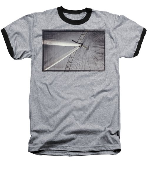 Eye On London Baseball T-Shirt by Joan Carroll