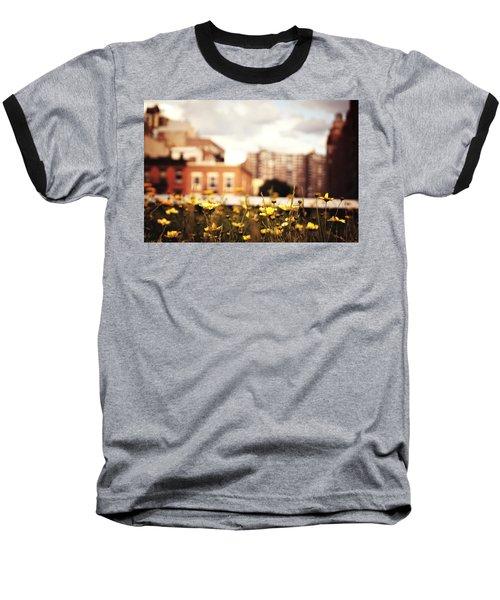 Flowers - High Line Park - New York City Baseball T-Shirt by Vivienne Gucwa