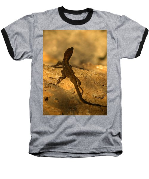 Leapin' Lizards Baseball T-Shirt by Trish Tritz