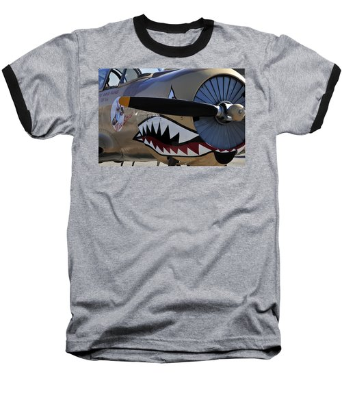 Mean Machine Baseball T-Shirt by David Lee Thompson