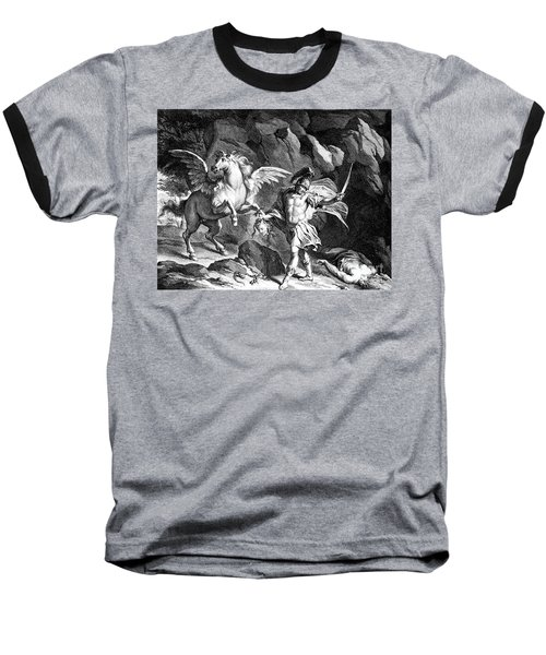 Mythology: Perseus Baseball T-Shirt by Granger