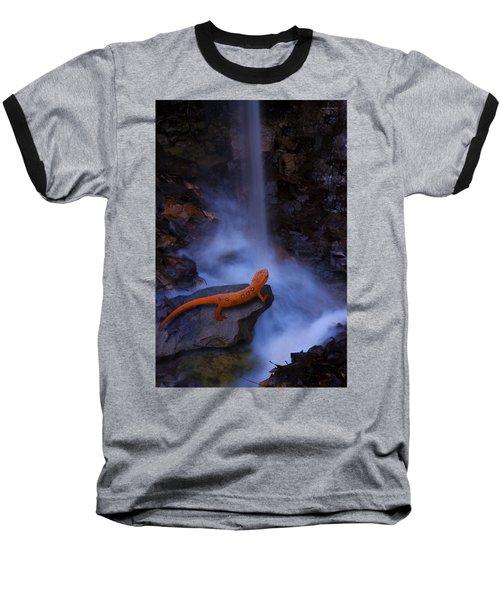 Newt Falls Baseball T-Shirt by Ron Jones