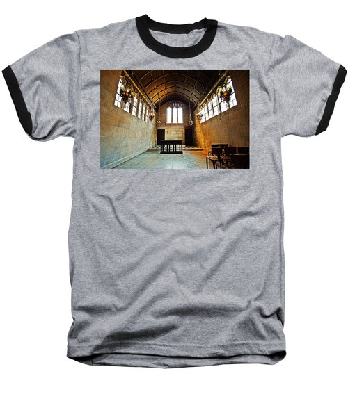 Of Stone And Wood Baseball T-Shirt by CJ Schmit