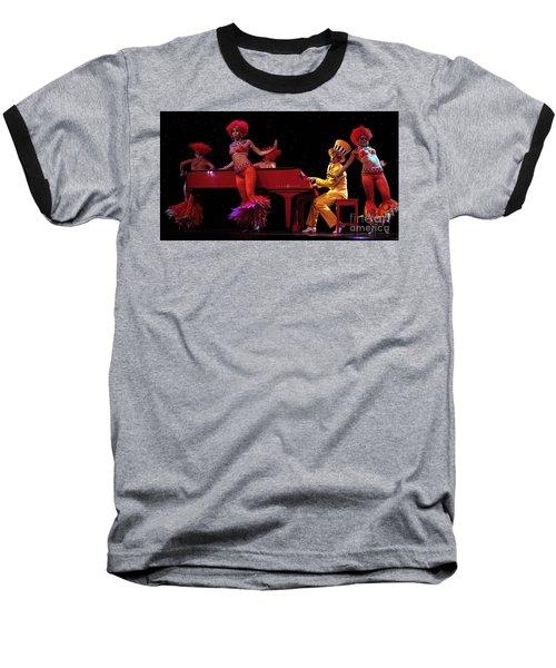 Performance 2 Baseball T-Shirt by Bob Christopher