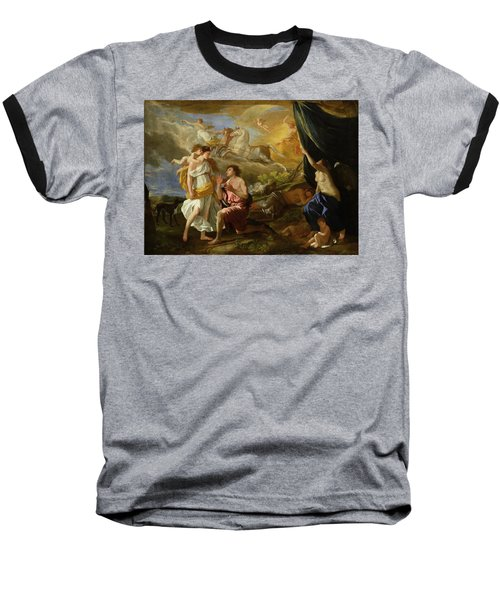 Selene And Endymion Baseball T-Shirt by Nicolas Poussin