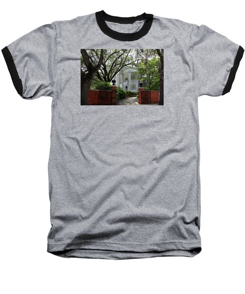 Southern Living Baseball T-Shirt by Karen Wiles