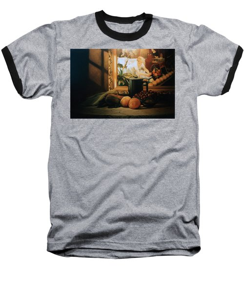 Still Life With Hopper Baseball T-Shirt by Patrick Anthony Pierson