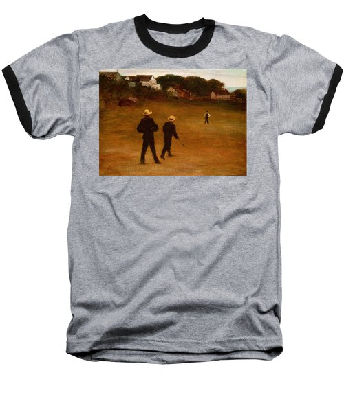 The Ball Players Baseball T-Shirt by William Morris Hunt