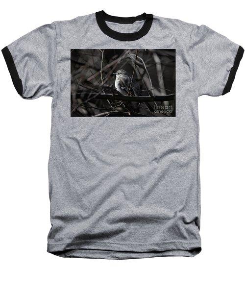 To Kill A Mockingbird Baseball T-Shirt by Lois Bryan
