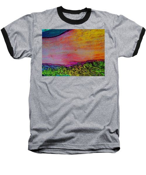 Baseball T-Shirt featuring the digital art Walk Into The Future by Richard Laeton