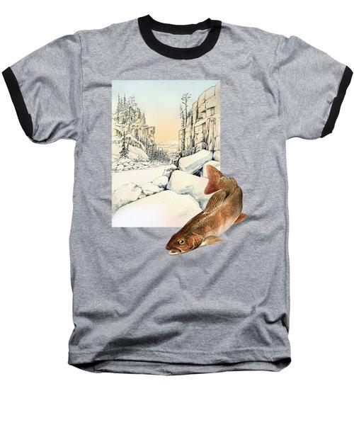 Lenok Baseball T-Shirt by Alexandra Panaiotidi