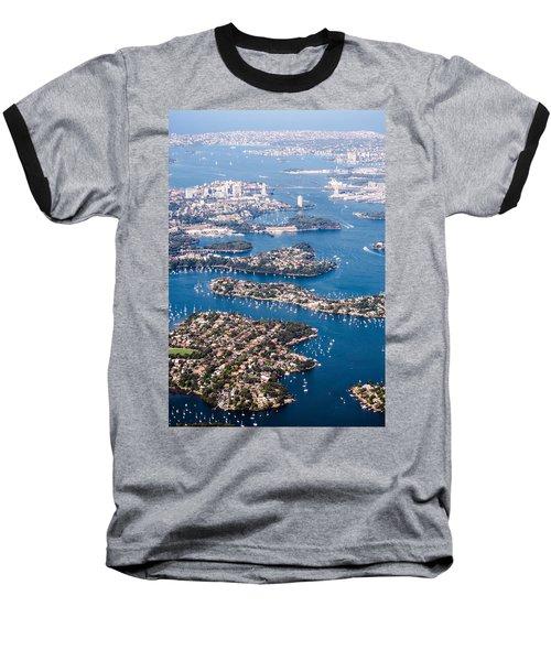 Sydney Vibes Baseball T-Shirt by Parker Cunningham