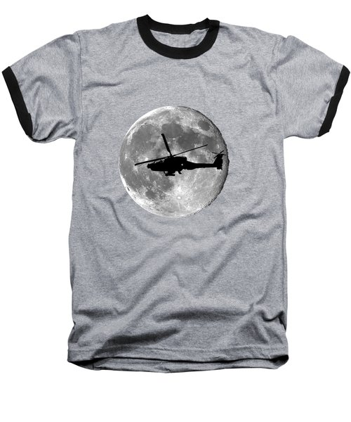 Apache Moon .png Baseball T-Shirt by Al Powell Photography USA